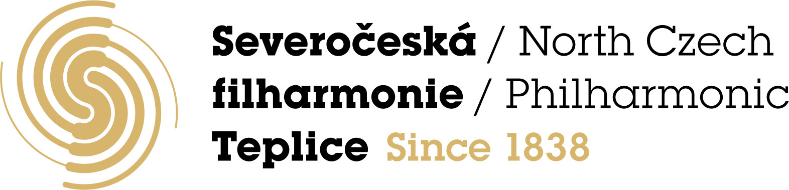 SCF Teplice logo gold