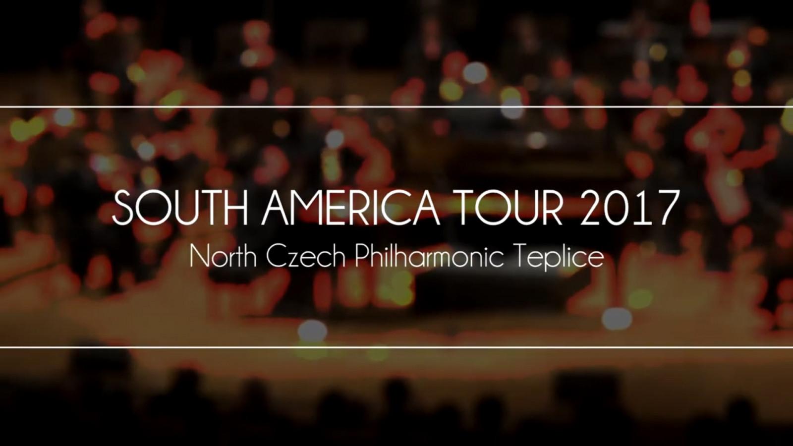 South America tour 2017